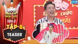 Thách thức danh hài 5  Teaser tập 8: Thí sinh diễn hài bằng thái cực quyền khiến Trấn Thành cười xĩu