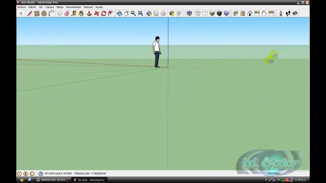 tutorial Basico de herramientas de google sketchup en
