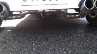 Daewoo Tico 91 dual exhaust sound (1)