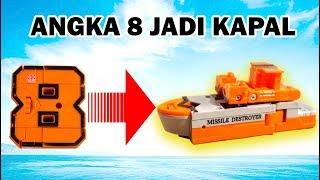 Mainan Anak Angka 8 Bisa Jadi Kapal | Mainan Puzzle Anak | Puzzle Toys For Kids | Puzzle 3D