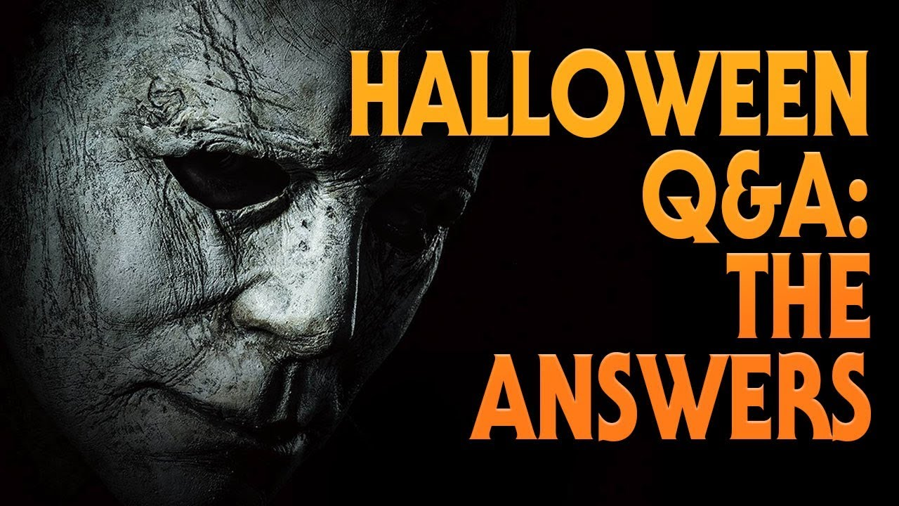 Halloween Q&A | Ask Me Anything | Answers
