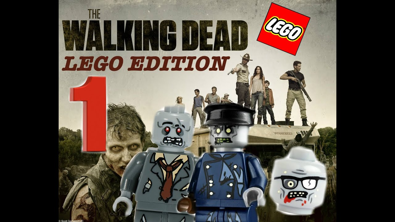 the walking dead lego stopmotion season 1 ep 1 1 youtube. Black Bedroom Furniture Sets. Home Design Ideas