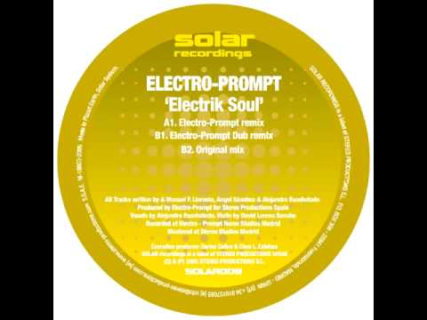 Electro Prompt   Electric Soul Original mix