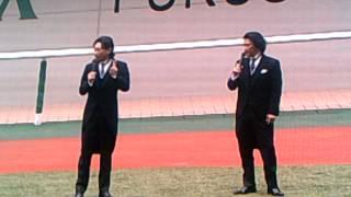福島競馬場に、2014年7月13日(日)にTOKIOの城島茂さんと、山口...