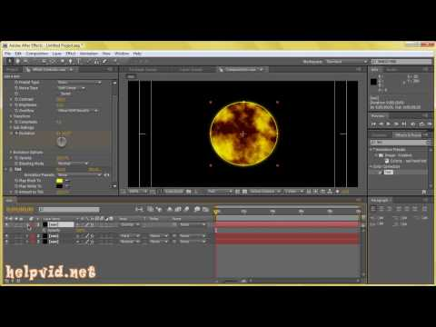 Create the Sun :: Solar Flare :: After Effects Tutorial