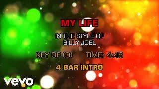 Billy Joel - My Life (Karaoke)