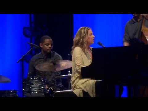 "Diana Krall at ""Blended"" Dubai Media City Amphitheatre - 2 May 2014"