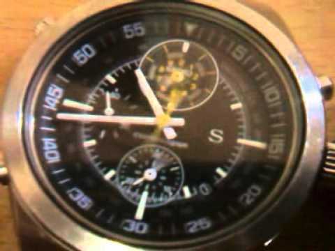 Seiko Watch 7t52 6b00 Youtube