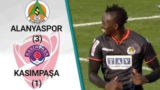 Alanyaspor 3 -1 Kasımpaşa (Ziraat Türkiye Kupası Son 16 Tur İlk Maçı)