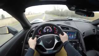 2019 Chevy Corvette Stingray 4K POV Drive!