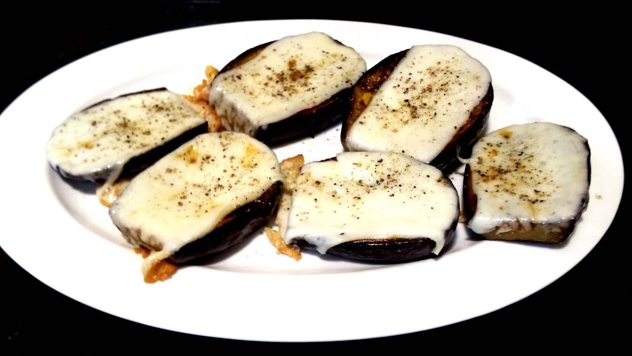 receta berenjenas con queso de cabra