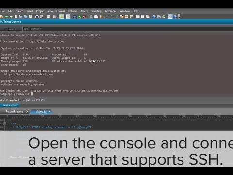 SSH Public/Private Key Setup