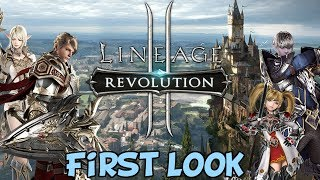 Lineage 2: Revolution - First Look