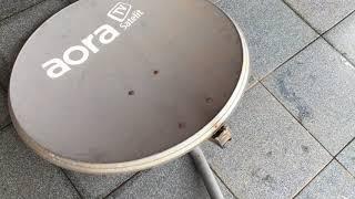 Mengenal Dish Parabola Aora TV Berbayar Langganan Pay TV