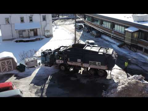 City of Ottawa Garbage Truck-in ACTION-2015