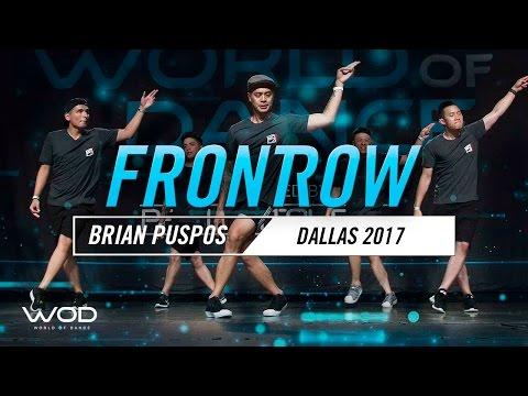 Brian Puspos   FrontRow   World of Dance Dallas 2017   #WODDALLAS17