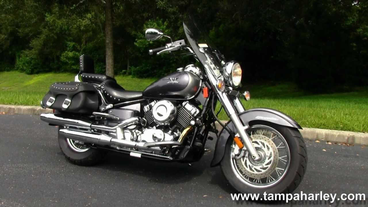 Used 2006 Yamaha V-Star Classic 650 XVS65A for sale - YouTube