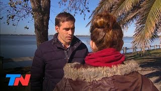 La masacre de Monte│Revelador: habló la novia de Aníbal, el joven de 22 años que manejaba el auto