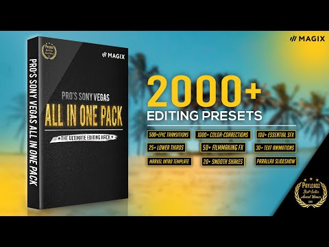 Sony Vegas All-In-One Preset Pack By Pro Edits