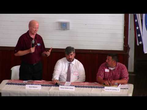 Political Forum - County Commission