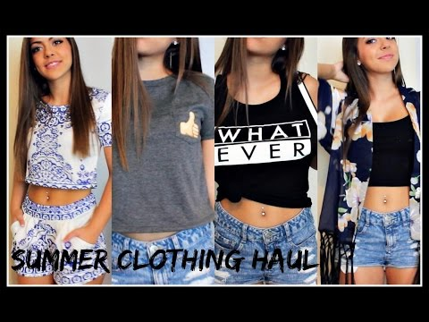 HUGE Try-On Summer Clothing Haul 2015
