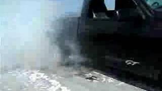 GMC Sierra GT Burnout