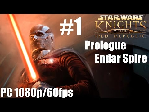Star Wars: Knights Of The Old Republic - Walkthrough - Part 1 Prologue - Endar Spire
