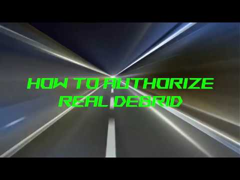 Streamaster - How To -Authorize Real Debrid in two Minutes
