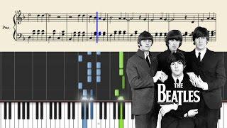 Video The Beatles - Yesterday - Piano Tutorial + SHEETS download MP3, 3GP, MP4, WEBM, AVI, FLV November 2018