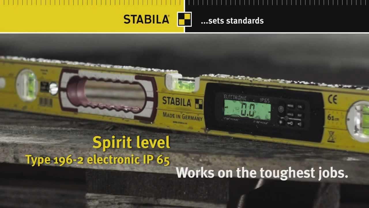 Stabila Electronic Spirit Level Type 196 2 Doovi