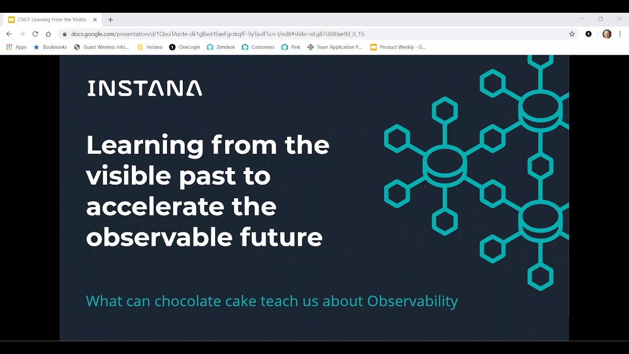 Webinar: Learning from the visible past to accelerate the observable future