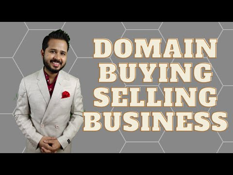 #businessskillwithaadarshsingh | Domain Name Buying Selling Business