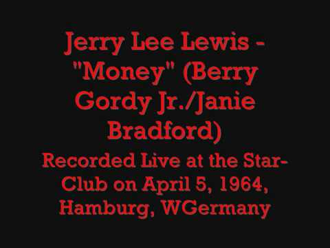 """Jerry Lee Lewis - """"Money"""" (Berry Gordy Jr./Janie Bradford)"""