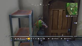 Fortnite glitch to kill and pass through walls