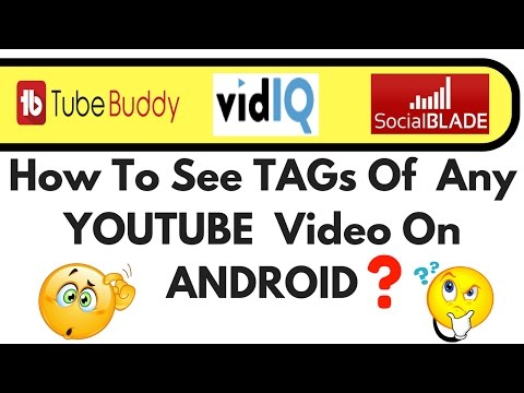 How To SEE TAGs📎 of YOUTUBE Video on Android📱