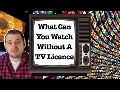 What TV Can You Watch Without A TV Licence?