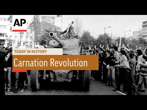 Carnation Revolution - 1974 | Today In History | 25 Apr 17