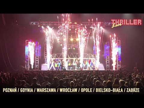 Thriller Live! - Trasa Koncertowa w Polsce