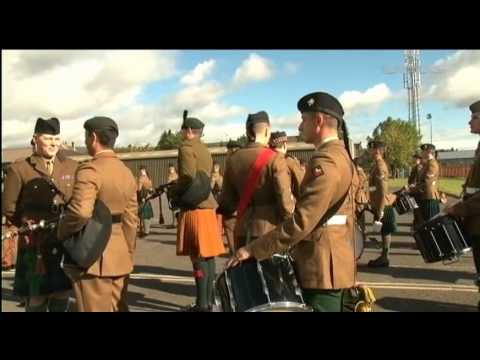 School Of Bagpipes And Highland Drumming | Forces TV