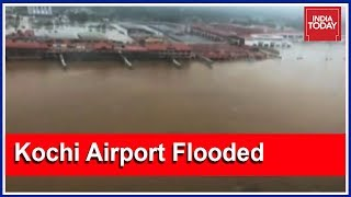 #KeralaSOS : Kochi International Airport Submerges In Periyar River Flood | Exclusive Visuals