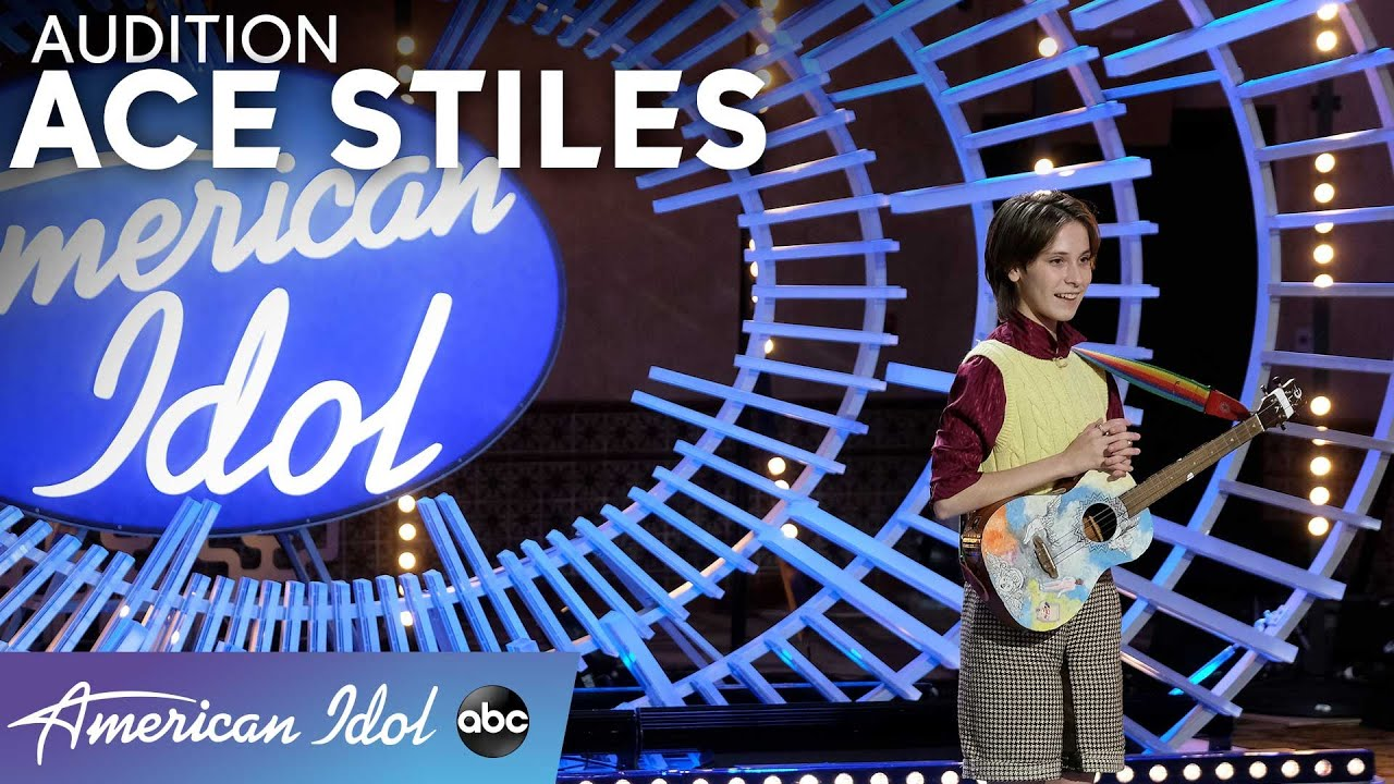 The Coolest Name In Town! Ace Stiles Auditions With An Original Song - American  Idol 2021 - YouTube