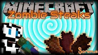 Minecraft | ZOMBIE STEAKS MOD | Sorenus Mods 197