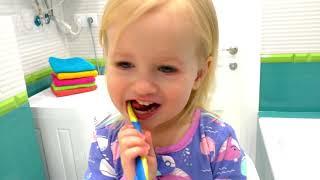 Lagu menggosok gigi | Brush Your Teeth | Lagu Anak-anak dari Katya dan Dima
