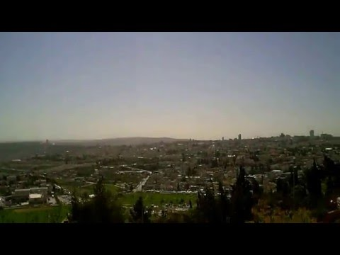 Jerusalem - From Hebrew University Mount Scopus campus - View to West 3 - March 7 2016