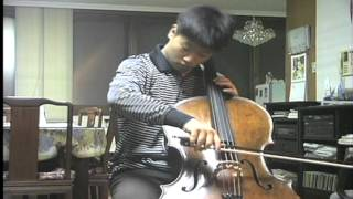 Bach Cello Sonata No2  1st and 2nd Mvt (Viola da Gamba)