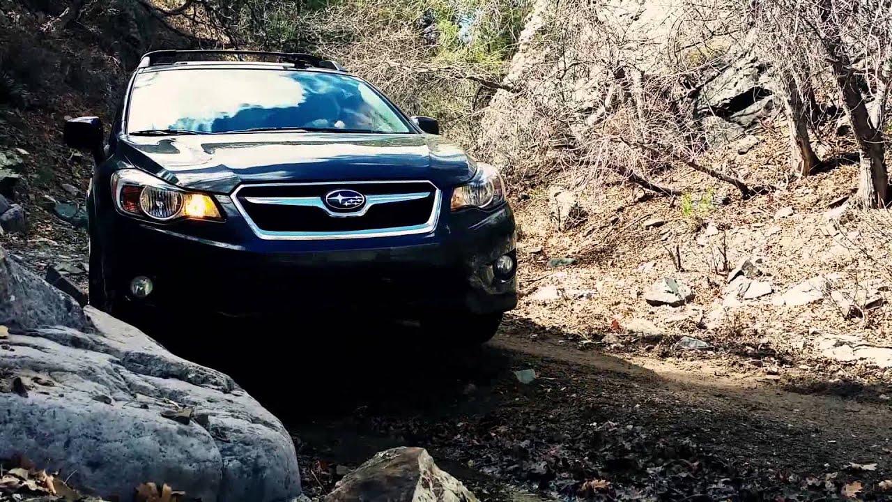 Subaru Xv Crosstrek Off Road Water Canyon Trail Section 1