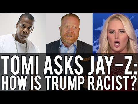 Fox's Tomi Lahren Asks Jay-Z to Prove Trump is a Racist. (Shawn is busy, so... CHALLENGE ACCEPTED!)