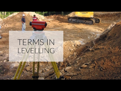 what-are-the-different-terms-used-in-levelling-,-civil-engineering-survey