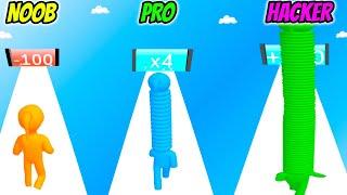Long Neck Run - NOOB vs PRO vs HACKER screenshot 5
