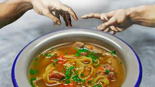 Божественный куриный суп!